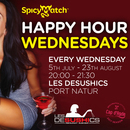 SpicyMatch Happy Hour Wednesdays