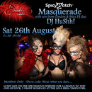 THE SPICY MATCH MASQUERADE PARTY WITH DJ HUSHH!
