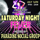 Saturday Night Fever - A FREE Event