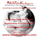 AbFabSwingers Launch and Kestrels Christmas Party